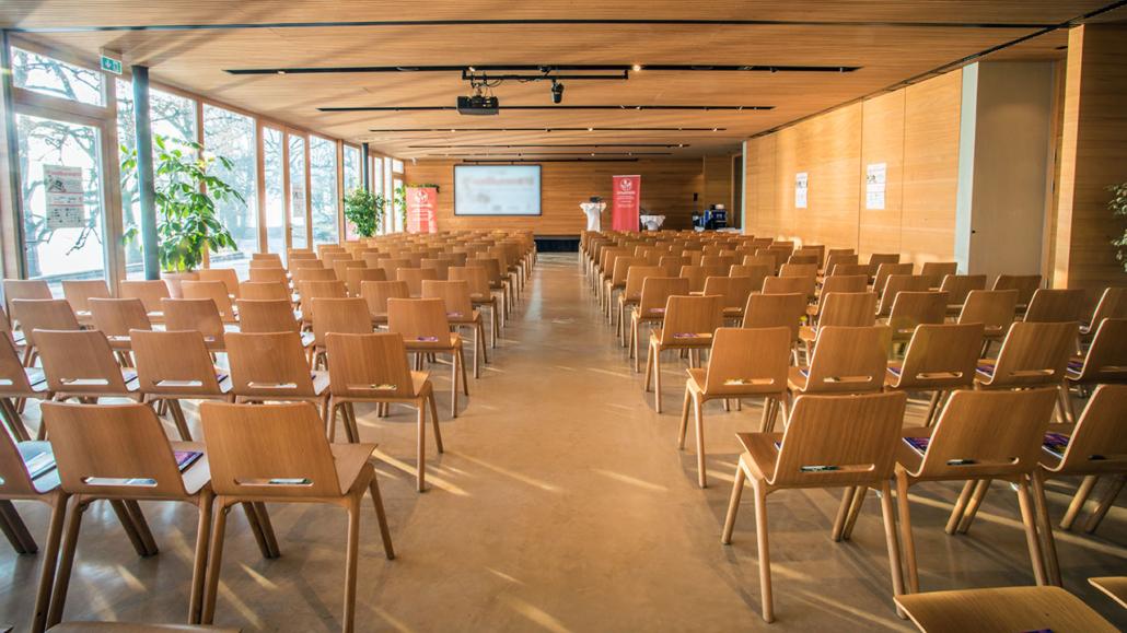 Comturey als Konferenzsaal